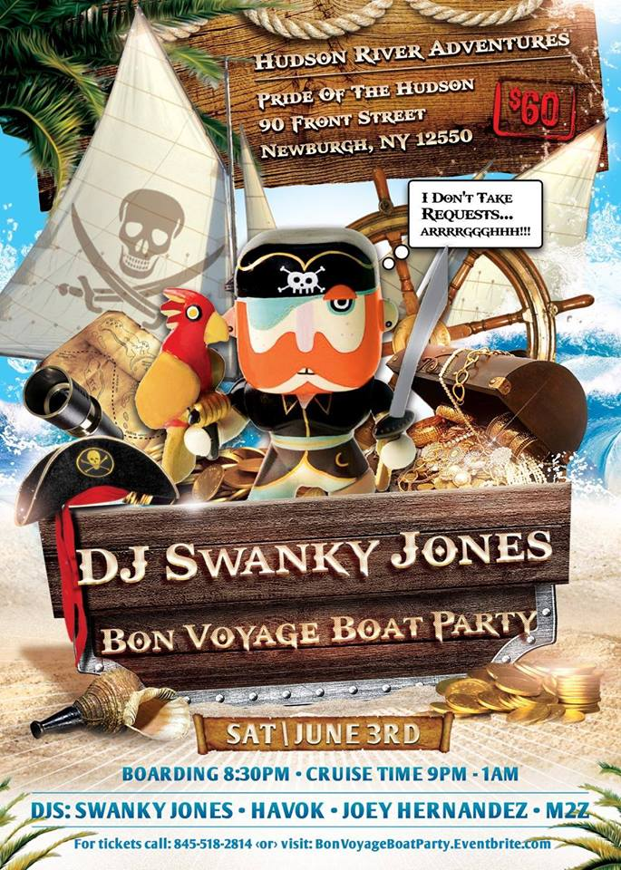 Swanky's Bon Voyage Boat Party (After Party Set)